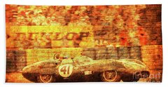 107 - 1959 Lister Jaguar Costin Bath Towel