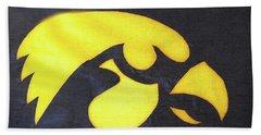 10724  Iowa Hawkeye Hand Towel