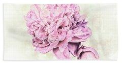 10861 Spring Peony Hand Towel by Pamela Williams