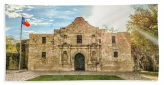 10862 The Alamo Bath Towel by Pamela Williams