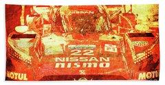 109 - Nissan Le Mans 2015 Hand Towel