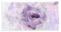 10947 Tulip Bath Towel