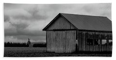 Barns In Pacific Northwest Bath Towel
