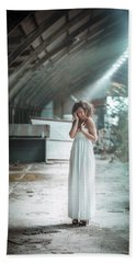 Hand Towel featuring the photograph Giulia by Traven Milovich