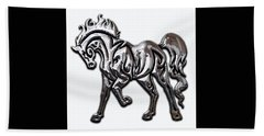 Horse Collection Hand Towel by Marvin Blaine