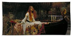 The Lady Of Shalott Bath Towel