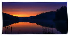 Hand Towel featuring the photograph Winter Dawn by Thomas R Fletcher