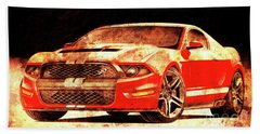 117 - 2015-ford-mustang-gt500 Bath Towel