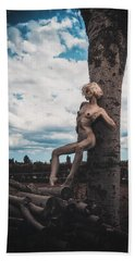 Bath Towel featuring the photograph Kelevra by Traven Milovich