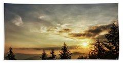 Summer Solstice Sunrise Hand Towel by Thomas R Fletcher