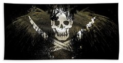 12857 1 Other S Pirates Flag Bath Towel