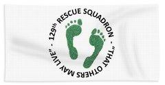 129th Rescue Squadron Hand Towel