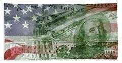 Usa Finance Bath Towel