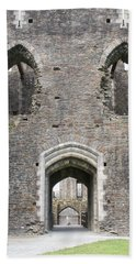 Caerphilly Castle Hand Towel