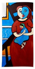 Picasso By Nora Bath Towel by Nora Shepley