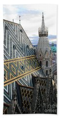 St Stephens Cathedral Vienna Bath Towel
