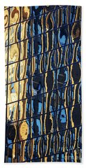 Abstract Reflection Hand Towel