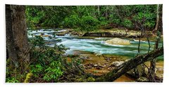 Bath Towel featuring the photograph Back Fork Of Elk River by Thomas R Fletcher