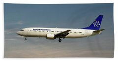 Funjet Vacations Boeing 737-400 Hand Towel