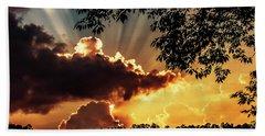 Bath Towel featuring the photograph Appalachian Sunset by Thomas R Fletcher