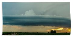 Mid Season Nebraska Supercell Bath Towel
