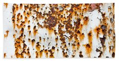 Rusty Metal Bath Towel
