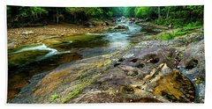 Bath Towel featuring the photograph Williams River Summer by Thomas R Fletcher