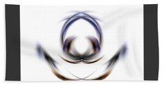 Hand Towel featuring the digital art 165-2015 by John Krakora