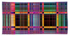 1672 Abstract Thought Bath Towel