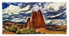 Capitol Reef National Park Catherdal Valley Hand Towel