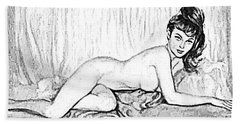 Pinup Bath Towel