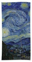 Starry Night Hand Towel