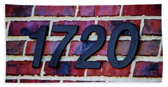 1720 Address Hand Towel