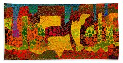 1732 Abstract Thought Bath Towel