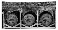 1787 Whiskey Barrels Bath Towel
