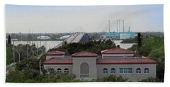 17th Street Bridge, Vero Beach, Fl Hand Towel