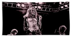 Led Zeppelin Collection Hand Towel by Marvin Blaine