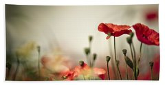 Poppy Meadow Bath Towel