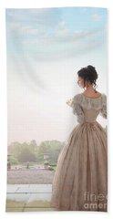 Victorian Woman Hand Towel by Lee Avison