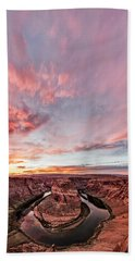 180 Degrees Of Sunset Hand Towel