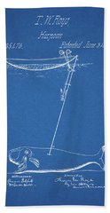 1862 Whaling Harpoon Hand Towel