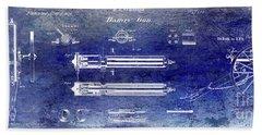 1865 Gatling Gun Patent Bath Towel