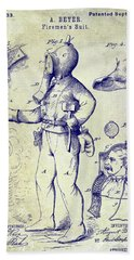 1880 Fireman Suite Patent Hand Towel