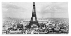 1889 Parisian Panorama Hand Towel