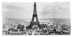 1889 Parisian Panorama Bath Towel