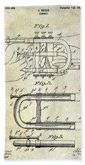 1899 Cornet Patent Bath Towel