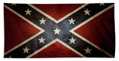 Confederate Flag 12 Bath Towel