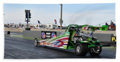 Junior Drag Racing March 2017 Hand Towel