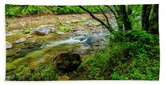 Hand Towel featuring the photograph Williams River Summer by Thomas R Fletcher