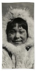 1910 Eskimo Child Bath Towel